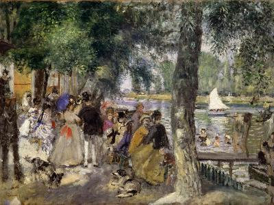 Bathing on the Seine (La Grenouill?r), 1869-Pierre-Auguste Renoir-Giclee Print