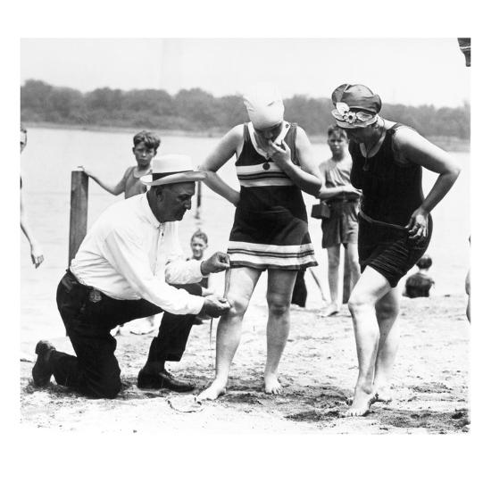 Bathing Suits, 1922--Giclee Print