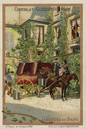 Bathing Wagon--Giclee Print