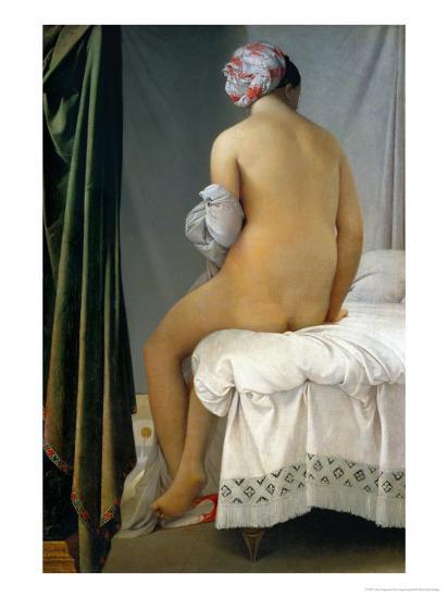 Bathing Woman (Baigneuse De Valpincon), 1806-Jean-Auguste-Dominique Ingres-Giclee Print