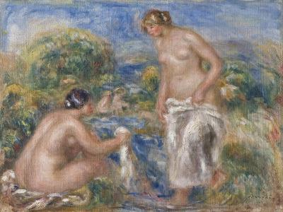 Bathing Women-Pierre-Auguste Renoir-Giclee Print