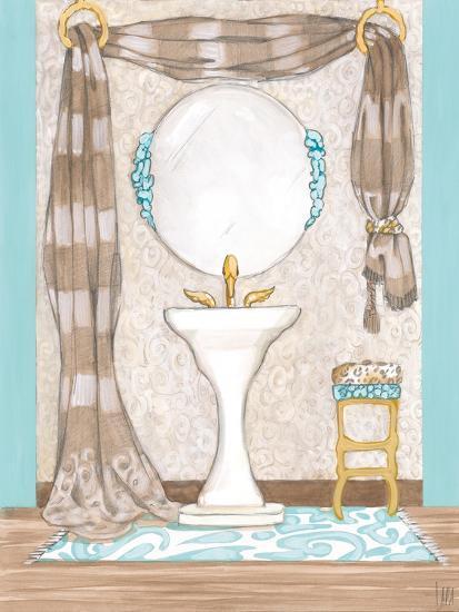 Bathroom Elegance II- Laurencon-Art Print