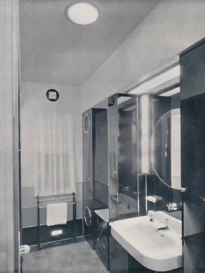 'Bathroom for a man', 1936-Unknown-Photographic Print
