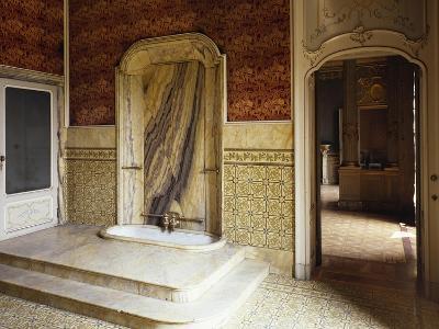 Bathroom of Royal Apartment, 1777-1780--Giclee Print