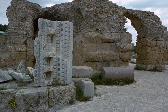 Baths of Antoninus Pius in Carthage, 2nd century. Artist: Unknown-Unknown-Photographic Print