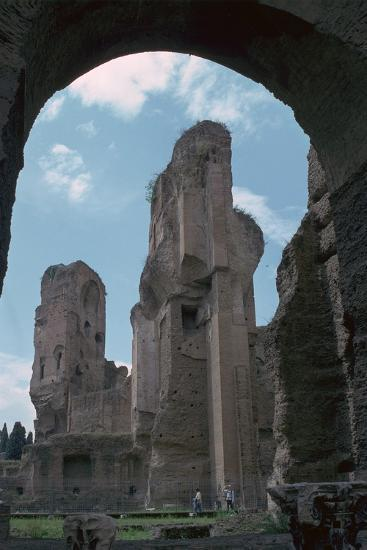 Baths of Caracalla, Built by the Emperors Instruction, 3rd Century-CM Dixon-Photographic Print