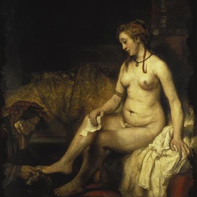 Bathsheba Bathing, 1654-Rembrandt van Rijn-Giclee Print