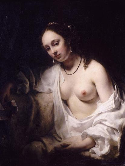 Bathsheba with King David's Letter, 1654-Willem Drost-Giclee Print