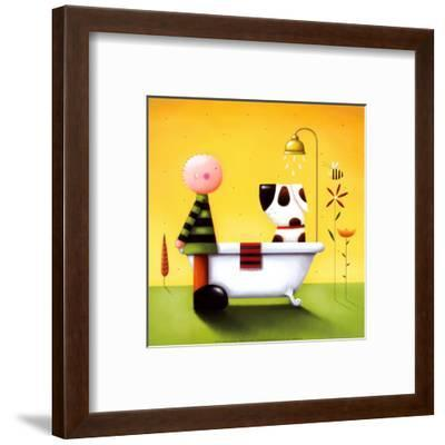 Bathtime-Jo Parry-Framed Art Print