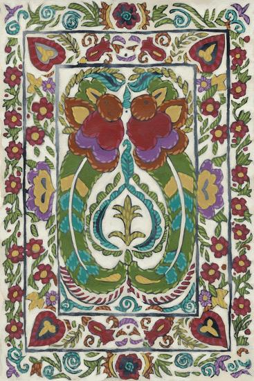 Batik Embroidery III-Chariklia Zarris-Art Print