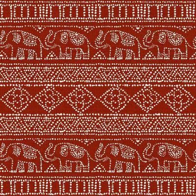 Batik Pattern IM-Daphne Brissonnet-Art Print