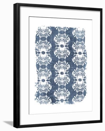 Batik Shell Patterns III-June Vess-Framed Art Print