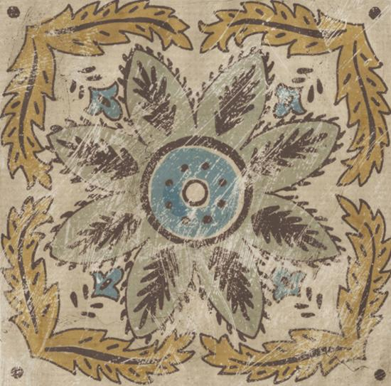 Batik Square IV-Chariklia Zarris-Giclee Print