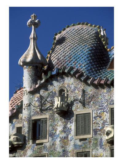 Batlló House-Antonio Gaudí-Art Print