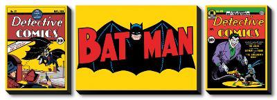 Batman and Comics--Canvas Art Set