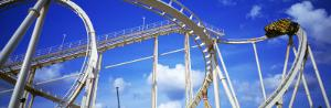 Batman the Escape Rollercoaster, Astroworld, Houston, Texas, USA