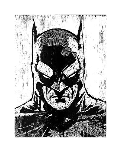Batman-Neil Shigley-Giclee Print