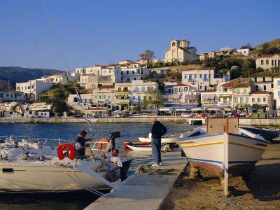 Batsi, Andros, Cyclades Islands, Greece, Europe-Firecrest Pictures-Photographic Print