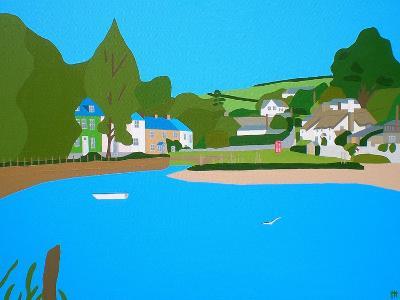 Batsons Creek-Tom Holland-Giclee Print