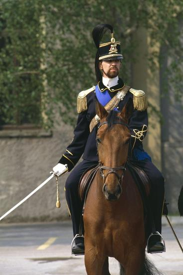 Batteries Riding Regiment Military Officer at Cuirassiers Gala--Giclee Print