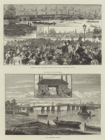 Battersea Bridge--Giclee Print