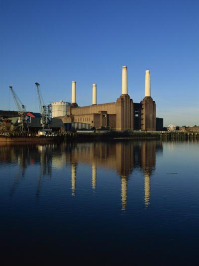 Battersea Power Station, London, England, United Kingdom, Europe-Tim Hall-Photographic Print