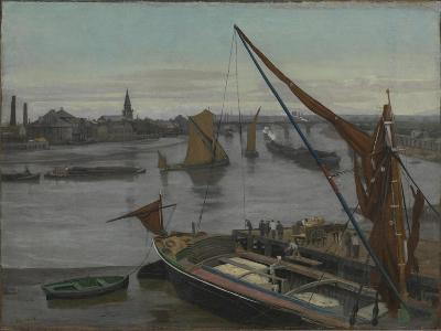 Battersea Reach-Walter Greaves-Giclee Print