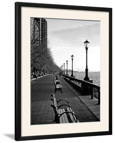 Battery Park City I-Jeff Pica-Framed Photographic Print