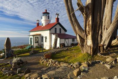 Battery Point Lighthouse, Crescent City, California, United States of America, North America-Miles-Photographic Print