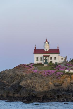 Battery Point Lighthouse in Crescent City, California, USA-Chuck Haney-Photographic Print