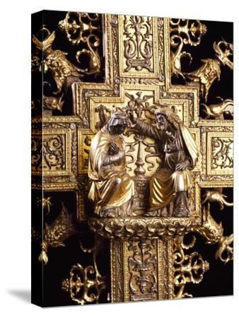 Detail from Silver-Gilt Cross, 1509