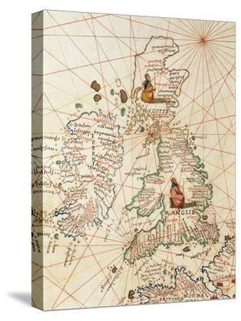 Europe: Great Britain and Ireland, from Atlas of the World in Thirty-Three Maps, 1553