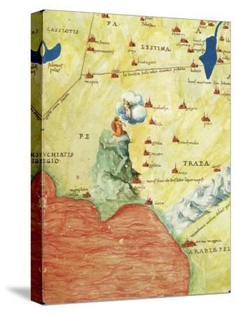 Nile River Delta, Red Sea and Mount Sinai, from Atlas of the World in Thirty-Three Maps, 1553