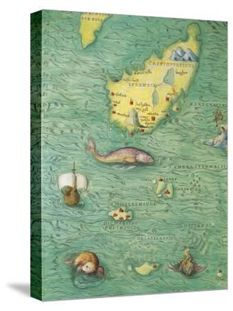 Northern Europe: Iceland, from Atlas of the World in Thirty-Three Maps, 1553