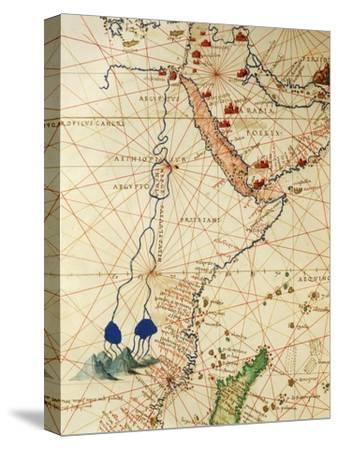 The Indian Ocean and Part of Asia and Africa: the Course of the Nile River