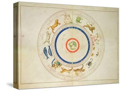 Zodiac Calendar, from an Atlas of the World in 33 Maps, Venice, 1st September 1553
