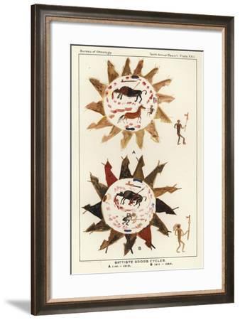 Battiste Good's Cycles--Framed Giclee Print