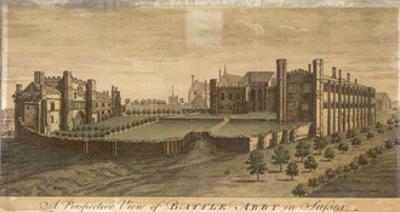 Battle Abbey in Sussex