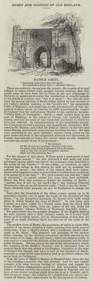 Battle Abbey--Giclee Print