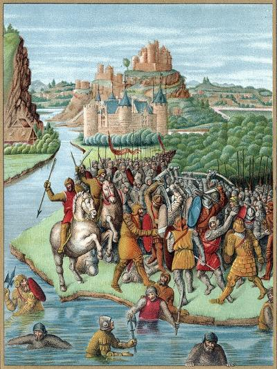 Battle Between Bacchides and Jonathan, Maccabean Revolt, 160 BC--Giclee Print