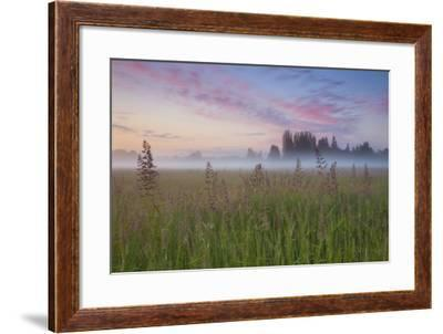 Battle Ground Sunrise-Darren White Photography-Framed Photographic Print