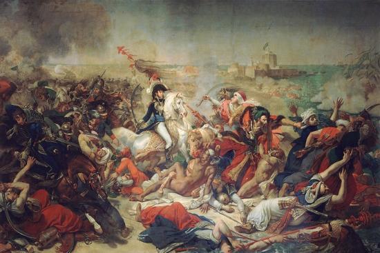 Battle of Aboukir, 25 July 1799, 1806-Antoine-Jean Gros-Giclee Print