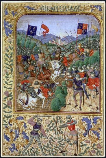 Battle of Agincourt, France, 25 October 1415, (19th century)-Unknown-Giclee Print