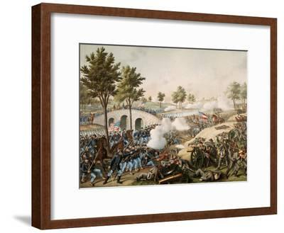 Battle of Antietam, also known as the Battle of Sharpsburg, 17 September 1862