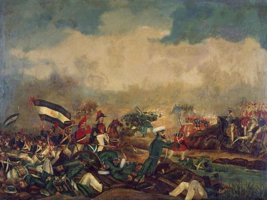 Battle of Arroyo Grande, December 6, 1842--Giclee Print