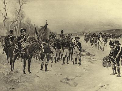 Battle of Ballinamuck, 1798-Henri-Louis Dupray-Giclee Print
