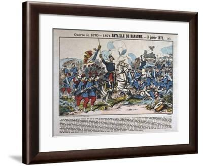 Battle of Bapaume, Franco-Prussian War, January 1871--Framed Giclee Print