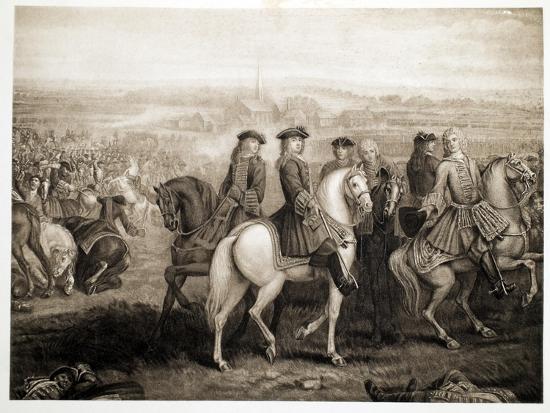 Battle of Blenheim, Pub. 1902-Louis Laguerre-Giclee Print