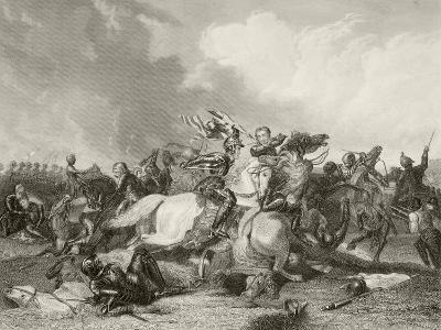 Battle of Bosworth Field--Giclee Print