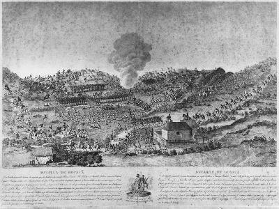 Battle of Boyaca--Giclee Print